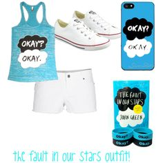 """""""the fault in our stars inspired outfit"""" by infinitygirl74 on Polyvore"""