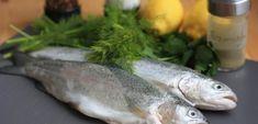 Pečený pstruh s citronem a bylinkami Fish, Meat, Lemon, Pisces