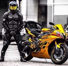 A great rider with a great bike