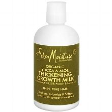 Shea Moisture -Yucca & Aloe Organic Hair Thickening Growth Milk / Yucca & Baobab thickening shampoo / Yucca & Baobab volumizing conditioner / Yucca & Baobab Mist