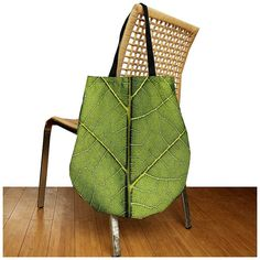 XXL Liściastaa torba   filcowy gratis ) (proj. atdesign), do kupienia w DecoBazaar.com