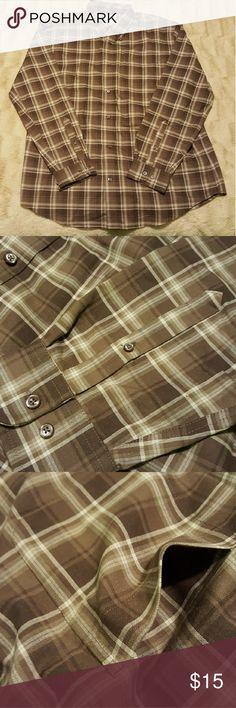 EUC XLT St. Johns Bay button down shirt Plaid. Front pocket. Iron free.  🚫No trades🚫 St. John's Bay Shirts Casual Button Down Shirts