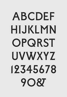 rca font