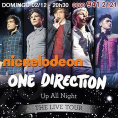 A Nickelodeon apresenta o One Direction Concert no Centro Bournemouth International, Louis, Harry, Zayn, Liam e Niall são filmados durante a turnê do álbum, cantando todos os seus sucessos e mais alguns extras. http://www.clarotvparceiro.com.br/