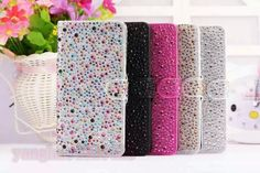 """Luxury Bling Diamond Leather Wallet Stand Case Cover for iPhone 6 Plus 5.5""""&4.7"""" 