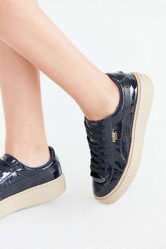 659d1d76155 Puma Basket Platform Patent Sneaker