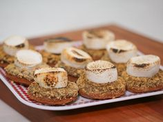 S'mores Doughnuts Recipe | Ayesha Curry | Food Network
