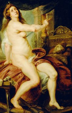 Peter Paul Rubens - Sacrfice of Dido, 1640.
