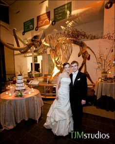Awesome wedding reception at the Florida Museum of Natural History in #Gainesville. #GNVFL