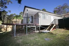 Granny Flat Solutions built granny flat- Spantec Steel Floor framing and steel EziPiers have been used- Dundas Valley NSW
