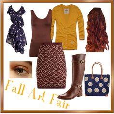 """Fall Art Fair"" by satininkjet on Polyvore"