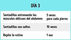 12Ejercicios para tonificar los glúteos ylas piernas en1semana