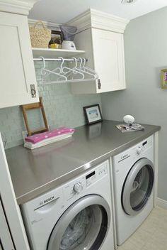 small laundry room decor   Small Laundry Room Design Ideas-30-1 Kindesign
