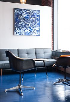 "George and James hair studio ""Hair Collective"", San Francisco 