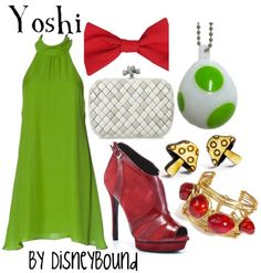 Yoshi- I should totally do this for halloween one year!