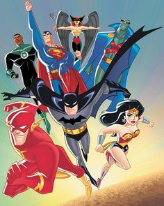 I loved this show so very much, and I hate that they don't show it anymore!!! DC NATION BRING THIS BACK!!!!!!!!!!!!!! <3 Hawk Girl, Green Lantern and Batman!!!!!