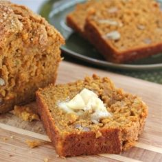 Whole Grain Pumpkin Banana Bread