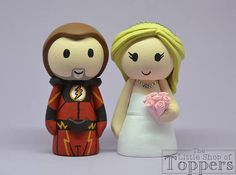 The Little Shop of Toppers by LittleShopOToppers on Etsy Wedding Cake Toppers, Wedding Cakes, Superhero Cake Toppers, Tie Colors, Bride Hairstyles, Colorful Flowers, Special Day, Our Wedding, Groom