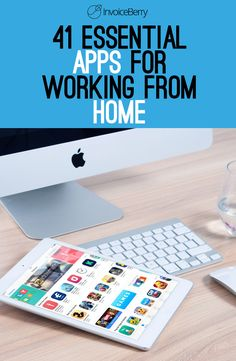 Read on to discover 41 essential apps for working from home and how they could boost your professional life.