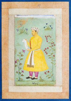 Khoja Abu al Hasan Islamic Paintings, Mughal Empire, Schools, Taj Mahal, Calligraphy, Culture, Indian, History, Book
