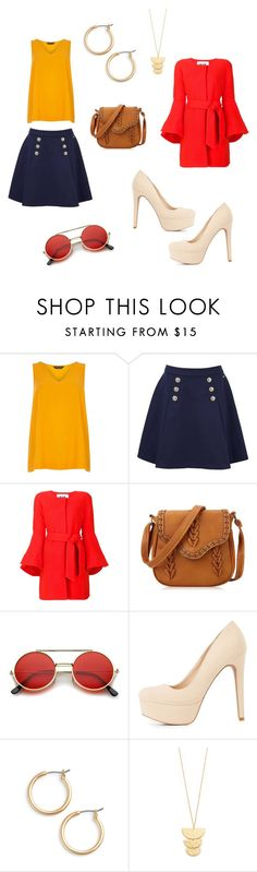 """Color scheme inspo 2"" by sukriticeya on Polyvore featuring Dorothy Perkins, Tommy Hilfiger, Milly, ZeroUV, Charlotte Russe, Nordstrom and Gorjana"