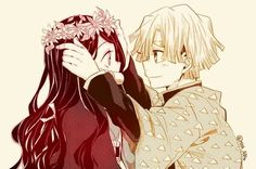 [Kimetsu no Yaiba] - Doujinshi - Mitsuri x Iguro- Manga Anime, Anime Couples Manga, Anime Demon, Cute Anime Couples, Anime Art, Demon Slayer, Slayer Anime, Me Me Me Anime, Anime Love