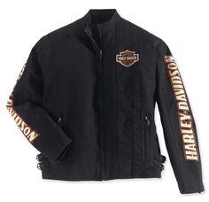 Harley-Davidson Men's Complete Nylon Jacket  Art-Nr.: 98001-03VM