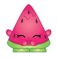 Melonie Pips (Shopkins 1-005, 1-012) Melonie Pips is a dark pink ...