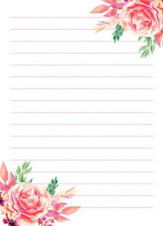 Free Printable Stationery, Weekly Planner Printable, Planner Pages, Printable Paper, Mini Albums Scrap, Borders For Paper, Vintage Lettering, Stationery Paper, Writing Paper