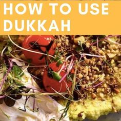 Dukkah Spice is a blend of toasted nuts, seeds, and spices with a nutty, earthy flavour. So how do you use dukkah? Read our suggestions. Spice Blends, Spice Mixes, Dukkah Recipe, 7 Spice, Panko Crumbs, Spicy Soup, Spiced Nuts, Toasted Sesame Seeds, Fresh Bread