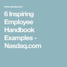 Let's face it, most employee handbooks are probably best used as a treatment for insomnia, but it doesn't have to be that way. Salon Business, Business Tips, New Employee Orientation, Employee Handbook, Leadership, Coaching, Management, Salon Ideas
