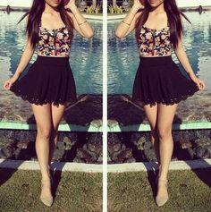 #moda #juvenil #faldas