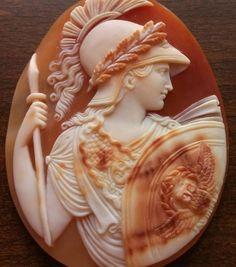 Rarest Cameo of Athena in Armour