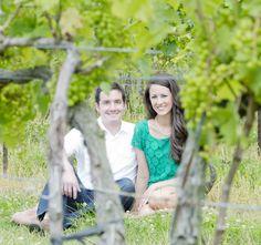 Engagement Photo #winery #ohio