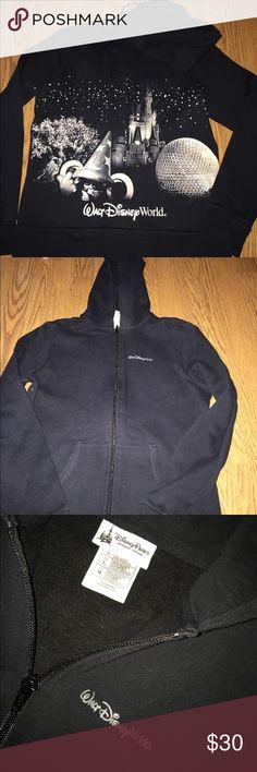 Walt Disney World zip up never worn , walt disney four parks zip up hoodie Disney Tops Sweatshirts & Hoodies