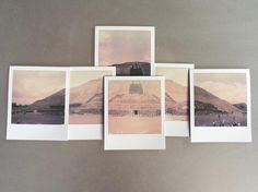 """282 Likes, 20 Comments - Catherine Just (@cjust) on Instagram: """"The Pyramid of the Sun. Teotihuacan, Mexico. @impossible_hq Impossible Project film, SX-70 camera.…"""""""