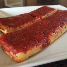 RI Pizza Strips | 10 Must Try RI Foods     #VisitRhodeIsland