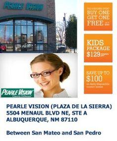 PEARLE VISION (PLAZA DE LA SIERRA) Albuquerque, NM