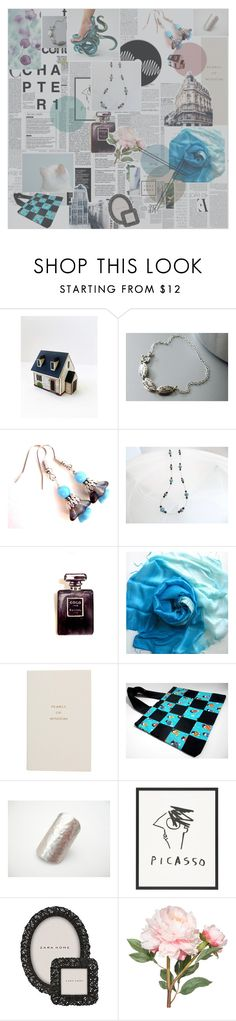 """The Day After"" by jarmgirl ❤ liked on Polyvore featuring Chanel, Smythson, McGinn, Zara and OKA"
