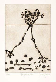 Frog and lake, Lake Eyre, the Desert Sea by John Olsen :: The Collection :: Art Gallery NSW Australian Painters, Australian Artists, Insect Art, Indigenous Art, Art For Art Sake, Linocut Prints, Gravure, Teaching Art, Textiles