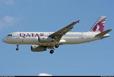 A7-AHU Qatar Airways Airbus A320-232
