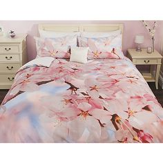 George Home Photographic Floral Duvet Set