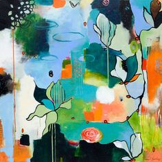 Bliss Like This by Flora Bowley Painting Print on Wrapped Canvas   Wayfair