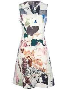 CARVEN Sleeveless Graphic Dress