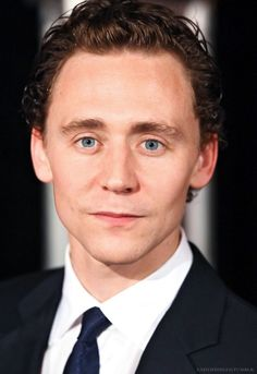 Tom Hiddleston. Those eyes!
