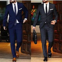 Apr 2020 - Dress for success with classic men's suits and suit pants. See more ideas about Mens suits, Dress for success and Suits. Mens Fashion Blog, Latest Mens Fashion, Suit Fashion, Fashion Menswear, Daily Fashion, Komplette Outfits, Men With Street Style, Herren Outfit, Formal Suits