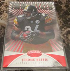 2013 PANINI CERTIFIED IMMORTALS JEROME BETTIS PITTSBURGH STEELERS #PittsburghSteelers