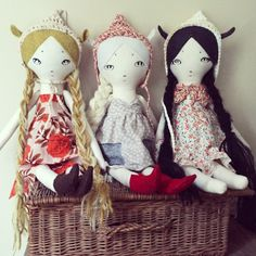 Custom Doll Deposit ooak handmade cloth doll by forestcreature