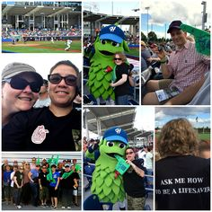 We love our #volunteers so much we took them to a #HillsboroHops #baseball game! And it sure looks like they had fun! :-) #donatelife
