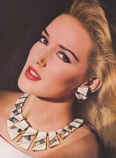 1987 Trifari jewelry ad
